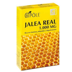 Biopôle Jalea Real 1000 mg   20 Ampollas de 10 ml