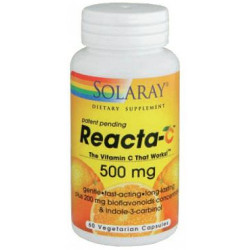 Reacta C 500 mg   60 Cápsulas