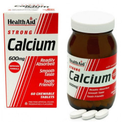 Calcio 600 mg   60 Comprimidos masticables