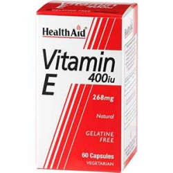 Vitamina E natural 400 UI   60 Cápsulas