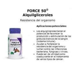 Force 50 Alquilgliceroles   60 Cápsulas