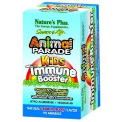Animal Parade Kids Immune Booster   90 Comprimidos masticables
