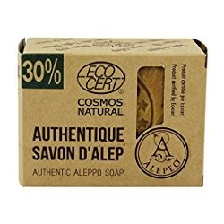 Jabón de Alepo Bloque Natural 30%   200 g